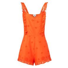Tangerine Romper