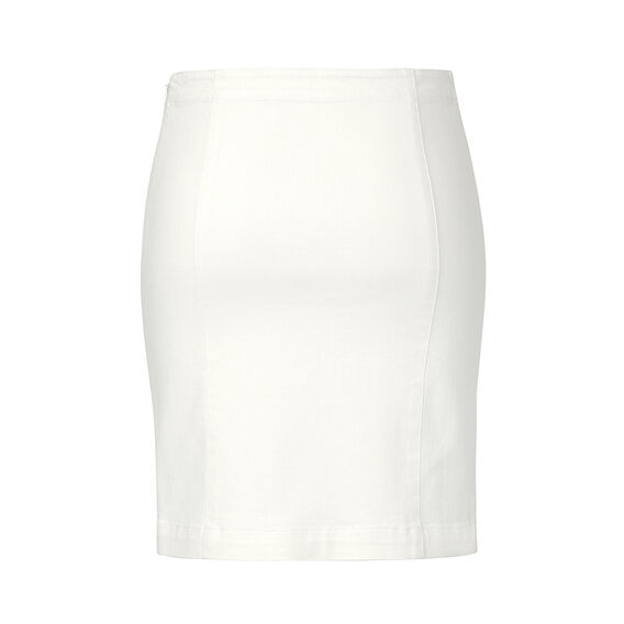 Denim Pintuck Skirt