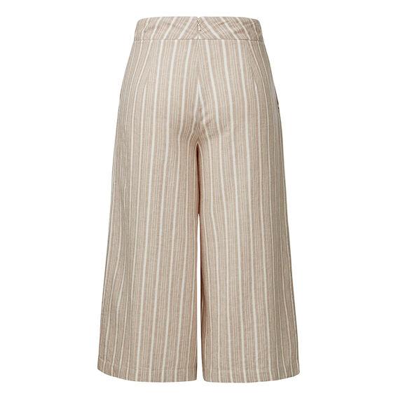 Fine Stripe Culotte Pant