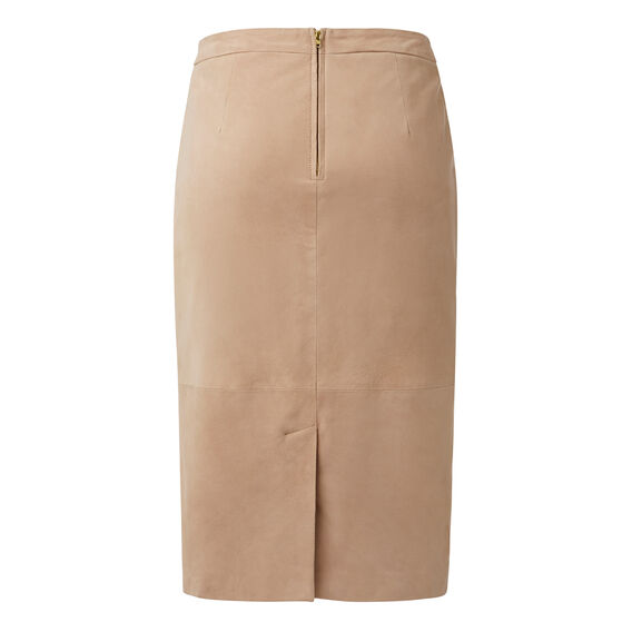 Collection Suede Pencil Skirt