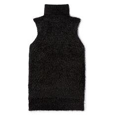Fluffy Sleeveless Knit
