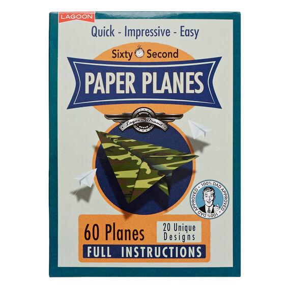 60 Second Paper Planes