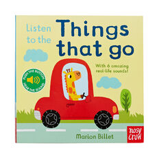 Listen To The Things That Go Book