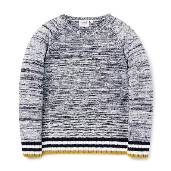 Stripe Rib Knit