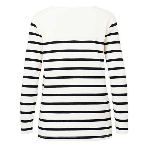 Stripe Terry Sweater