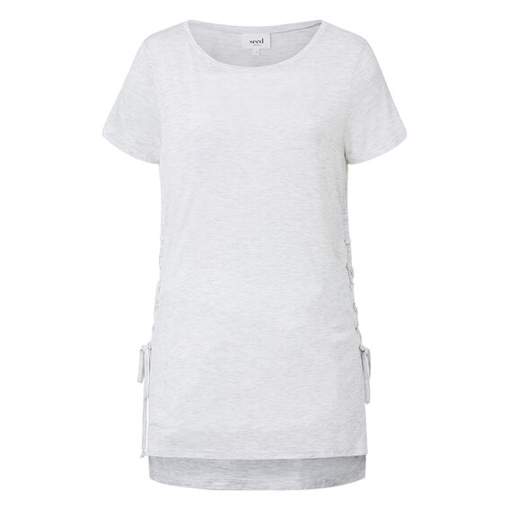 Lace Up Side Tee