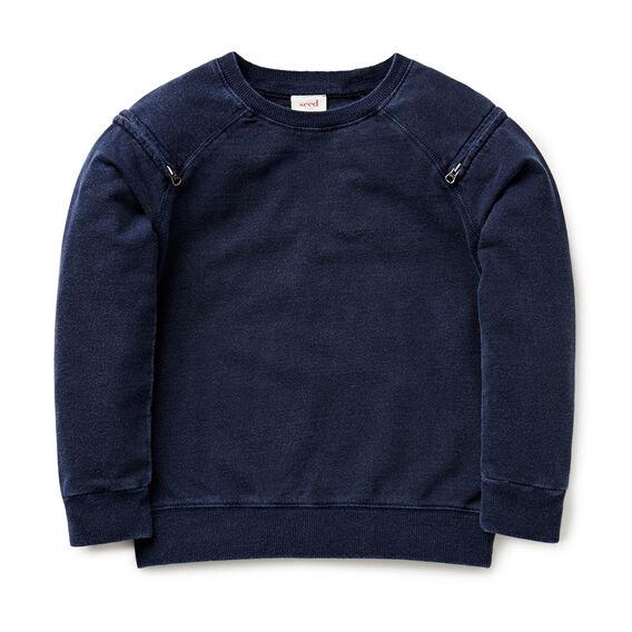 Acid Wash Sweater