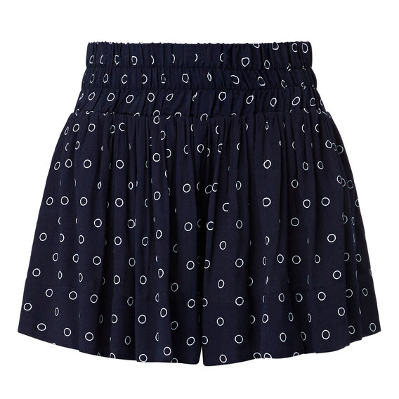 Printed Culotte Short