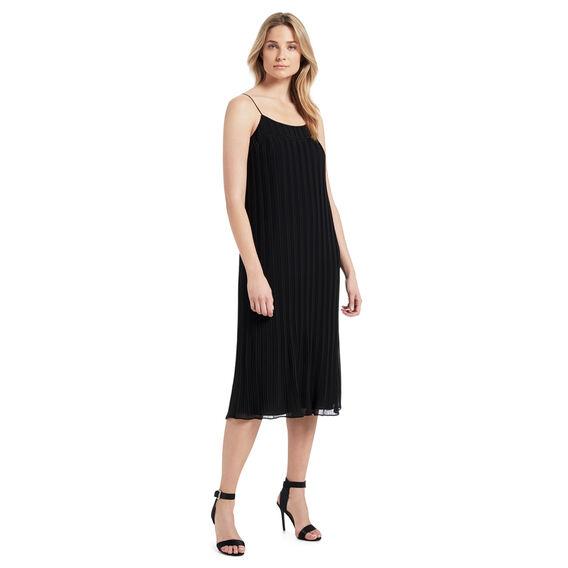 Strappy Pleat Dress