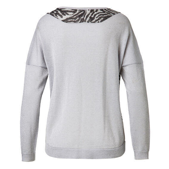 Animal Front Sweater