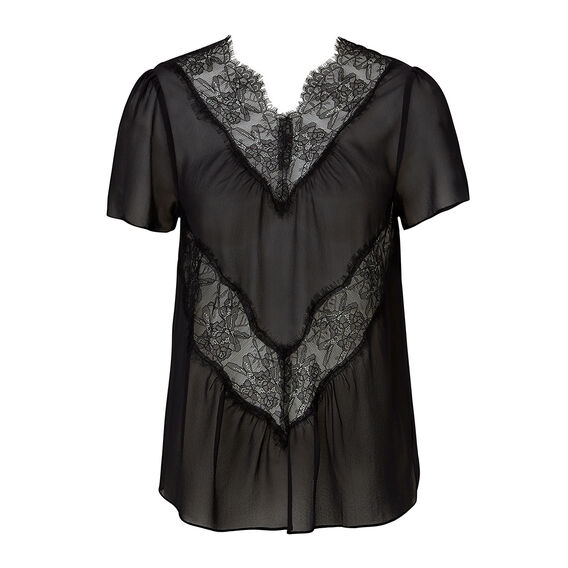 Collection Lace Floaty Top