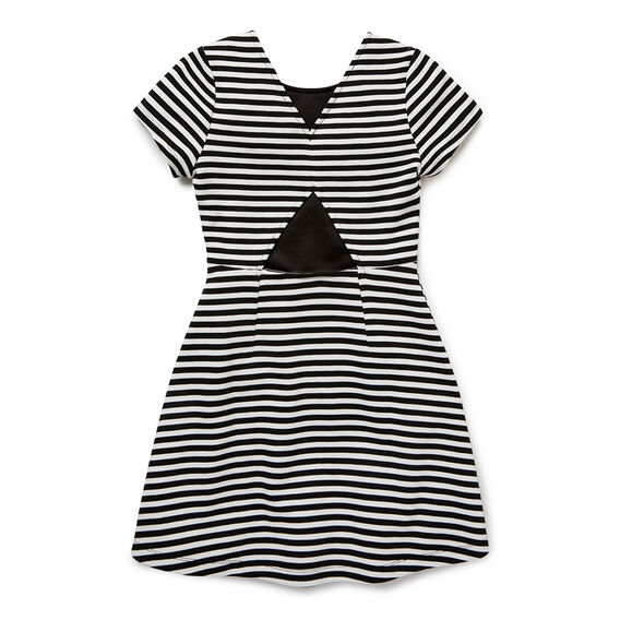 Ponte Stripe Dress