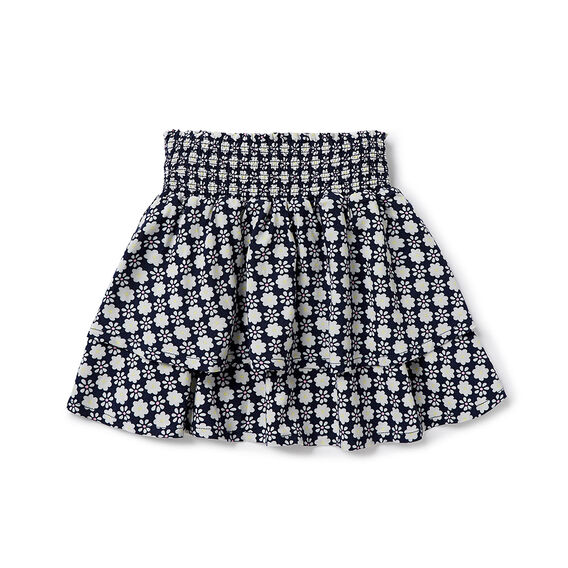 Floral Rah Rah Skirt