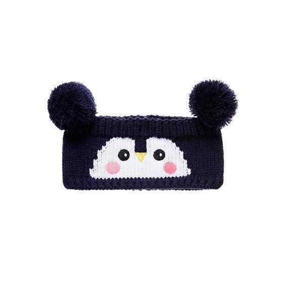 Penguin Knit Headband