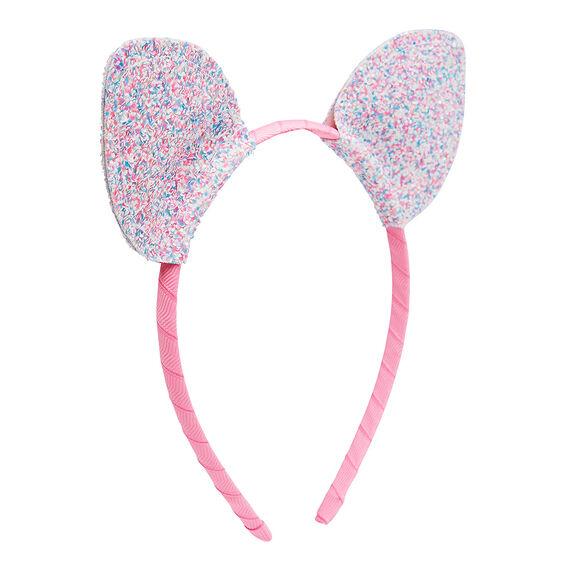 Chunky Glitter Cat Ear Headband