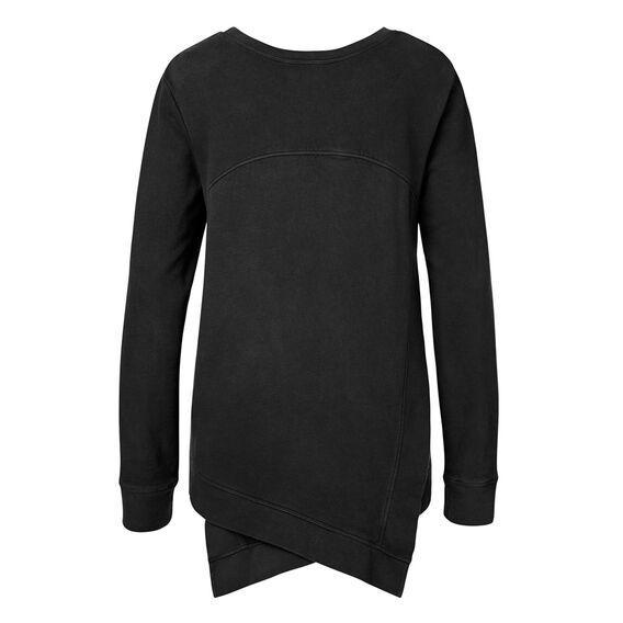 Cross Back LS Sweater
