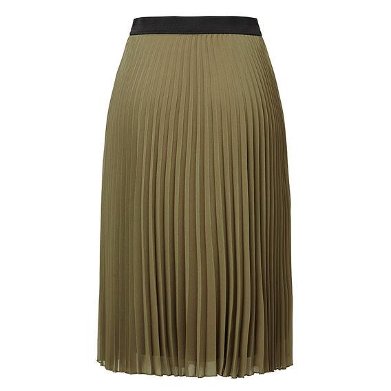 Military Pleat Skirt