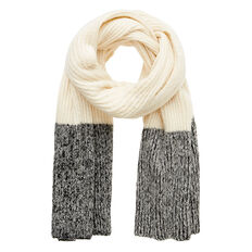 Contrast Tip Scarf
