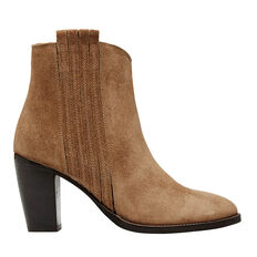 Mira Suede Ankle Boot