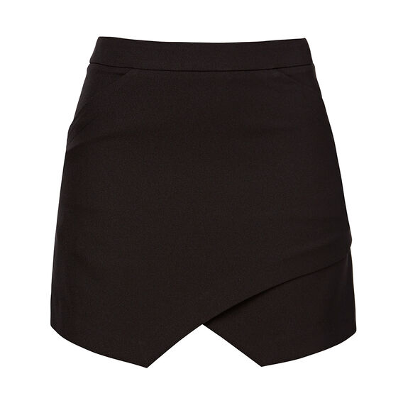 Collection Wrap Mini Skirt