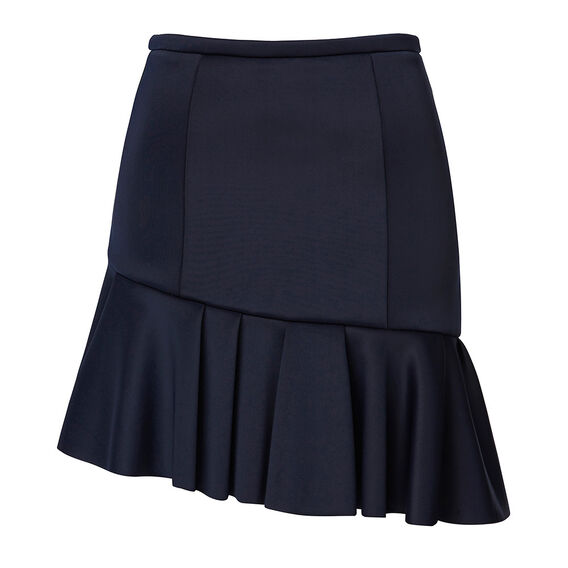 Collection One Side Mini Frill Skirt