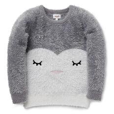 Fluffy Penguin Sweater