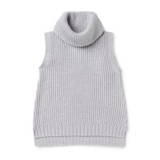 Roll Neck Sleeveless Sweater