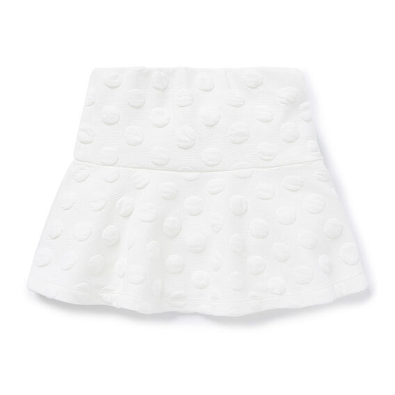 Quilted Spot Skirt