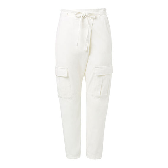 Wrap Front Cargo Pant
