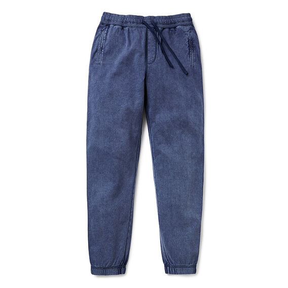 Distressed Washed Trackies