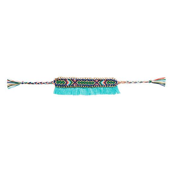 Woven Tassel Bracelet