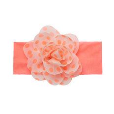Flower Knit Headband