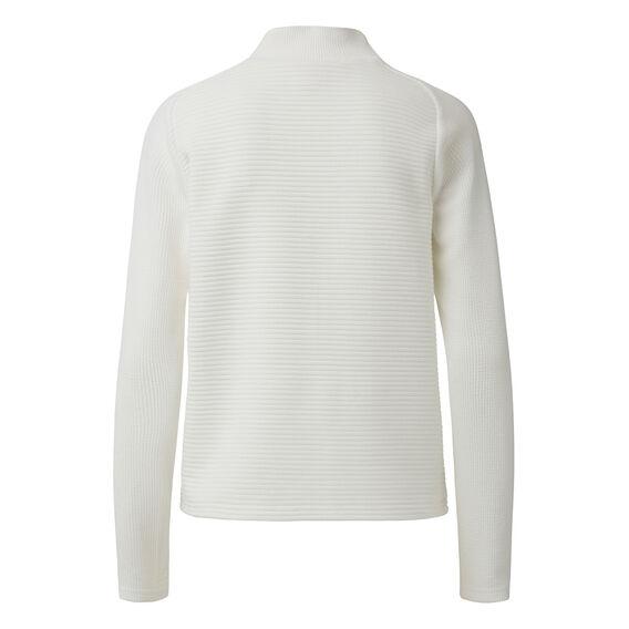 Spliced Roll Neck Sweater