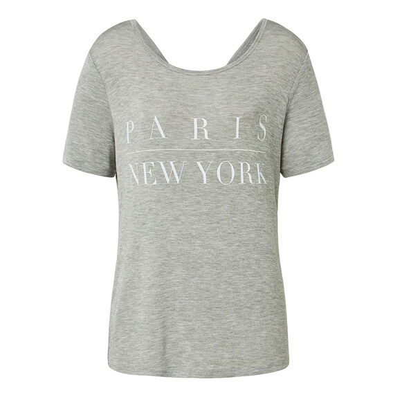 Paris New York Tee