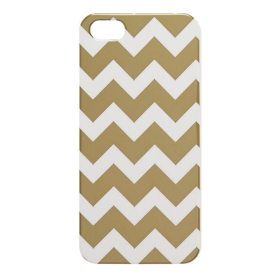 Gold Chevron Phone Case 5