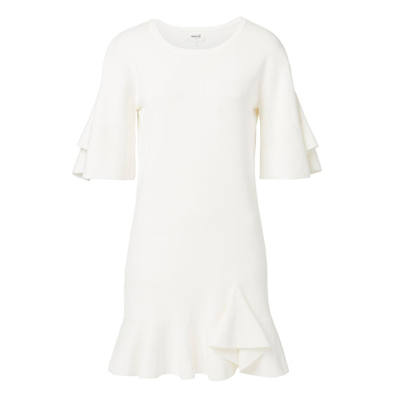 Collection Flute Crepe Dress