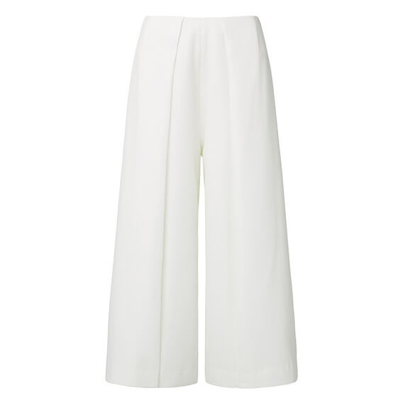 Collection Pleat Flare Culotte Pant