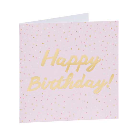 Spot Happy Birthday Card