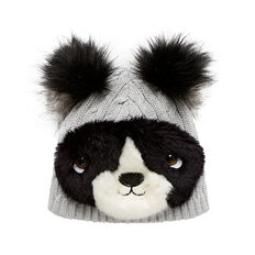 Fur Panda Beanie