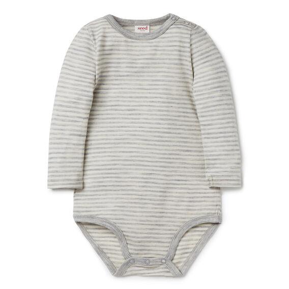 Merino Stripe Bodysuit