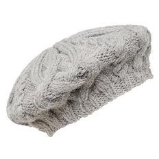 Cable Knit Beret