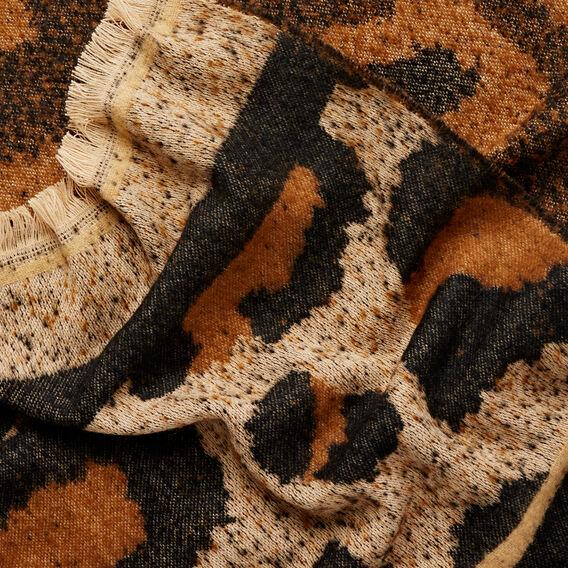 Ocelot Blanket Scarf