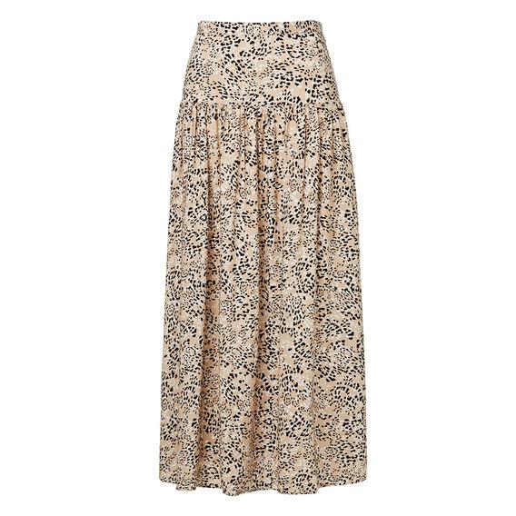 Split Animal Skirt