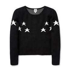 Star Crop Knit