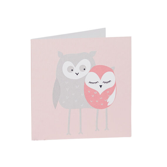 Two Owls Card