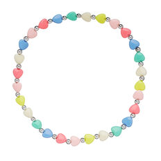 Hearts Stretch Necklace