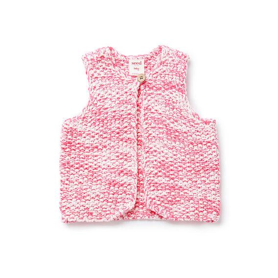 Twisted Knit Vest