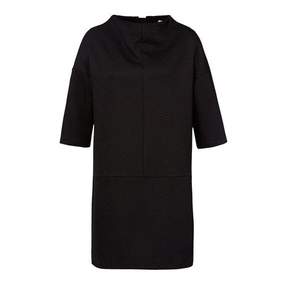 Funnel Neck Dress