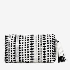 Small Tassel Pull Cosmetic Bag