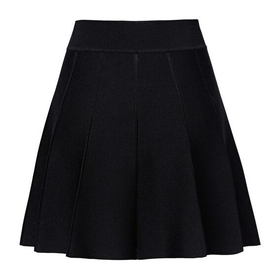 Collection Mini Crepe Godet Skirt